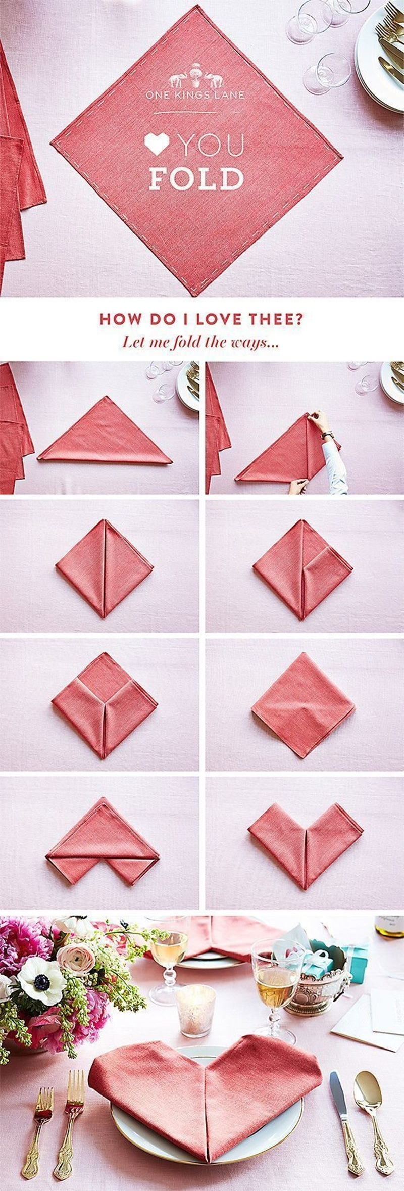 75 Cool Napkin Folding Ideas For Your Next Dinner Party