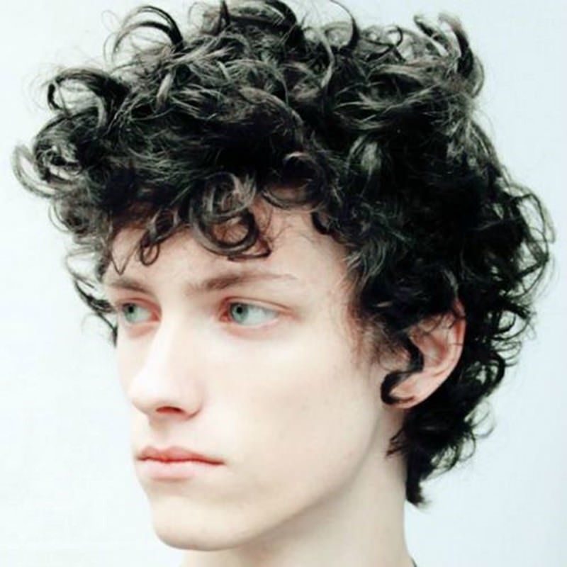 110 Modern And Stylish Curly Hairstyles For Men